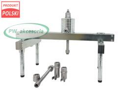 Ściągacz wtryskiwaczy hydrauliczny rama + siłownik + adaptery 2.0, 3.0 i Bosch