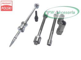 Zestaw adapterów do wciągania wtryskiwaczy Bosch Opel Iveco Ducato + kluczyk i ściągacz podkładek